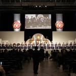 梅花流創立60周年記念奉詠大会が開催されました。